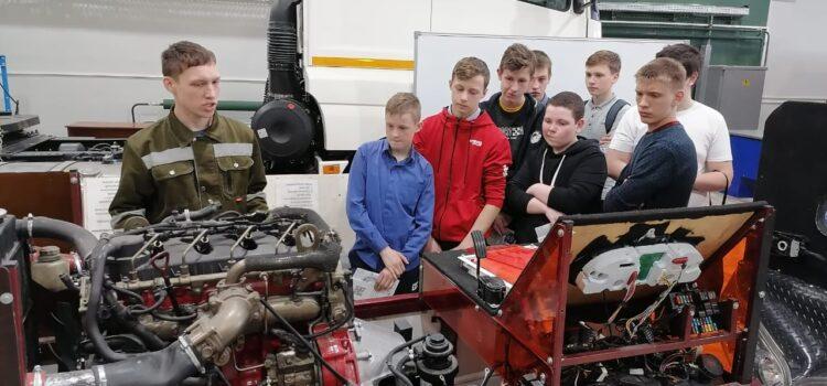 Профориентационная экскурсия в  Кемеровский профессионально-технический техникум