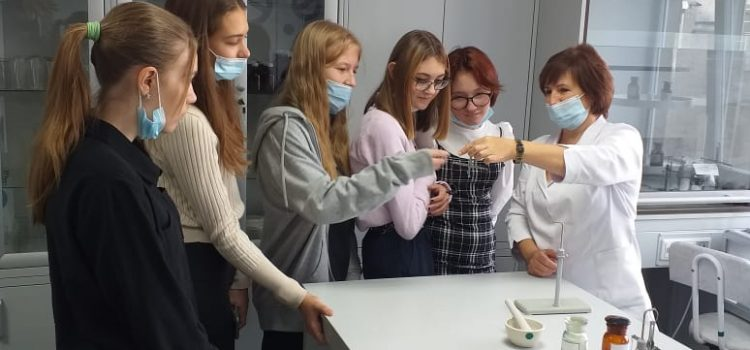 День открытых дверей в Кузбасском медицинском колледже